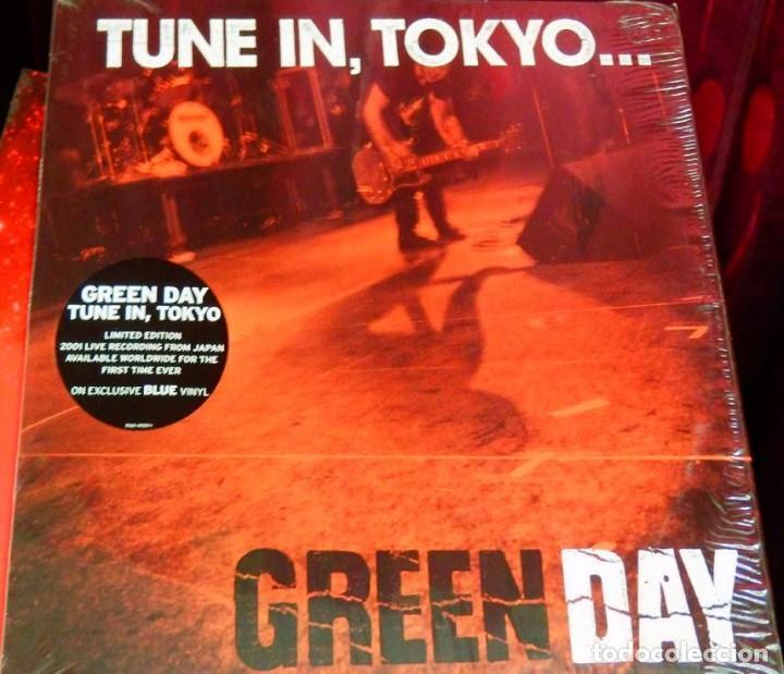 Discos de vinilo: GREEN DAY * LP Record Store Day 2014 * TUNE IN TOKYO * LTD Vinilo azul + cupón descarga Precintado!! - Foto 11 - 143664810