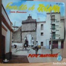 Discos de vinilo: GORDITO DE TRIANA -EP 4 CANCIONES. Lote 143666766