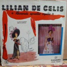 Discos de vinilo: LILIAN DE CELIS -EP .4 CANCIONES-. Lote 143667018