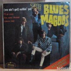 Discos de vinilo: BLUES MAGOOS -EP .4 CANCIONES . Lote 143667042