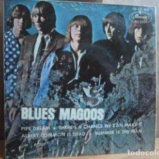 Discos de vinilo: BLUES MAGOOS -EP .4 CANCIONES . Lote 143667074