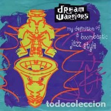 Discos de vinilo: DREAM WARRIORS - MY DEFINITION OF A BOOMBASTIC JAZZ STYLE (7 SINGLE) LABEL:ISLAND RECORDS, 4TH & . Lote 143672642