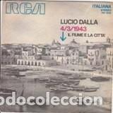 LUCIO DALLA 3/4/43 1971 (Música - Discos - LP Vinilo - Otros Festivales de la Canción)