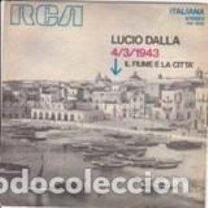 Discos de vinilo: LUCIO DALLA 3/4/43 1971 . Lote 143677698