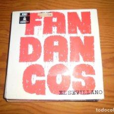 Discos de vinilo: EL SEVILLANO. FANDANGOS. EP. ODEON, 1964. Lote 143688262