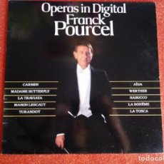 Discos de vinilo: OPERAS IN DIGITAL - FRANCK POURCEL. Lote 143692614