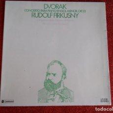 Discos de vinilo: DVORAK - CONCIERTO PARA PIANO EN SOL MENOR OP. 33 - RUDOLF FIRKUSNY. Lote 143693910