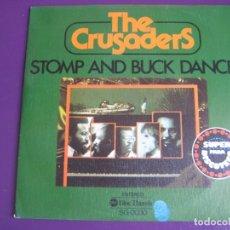 Discos de vinilo: THE CRUSADERS ?SG ABC 1976 - STOMP AND BUCK DANCE / DOUBLE BUBBLE - JAZZ FUNK SOUL . Lote 143695662