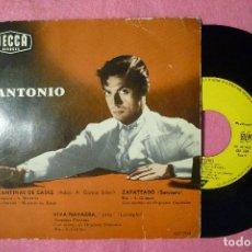 Discos de vinilo: ANTONIO ZAPATEANDO / 3+ EP FRANCE PRESS (VG++/EX-) T. Lote 143695894