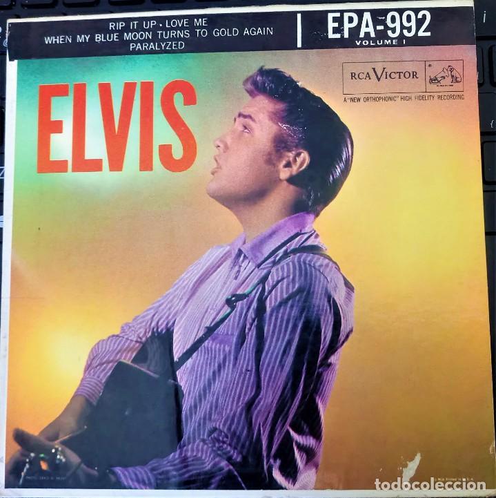 ELVIS PRESLEY - ELVIS - EP 45 RPM ORIGINAL USA 1956 - 1ªEDICIÓN. EPA-992 (Música - Discos de Vinilo - EPs - Rock & Roll)