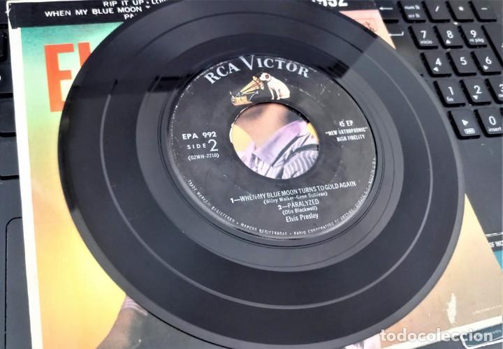 Discos de vinilo: ELVIS PRESLEY - ELVIS - EP 45 RPM ORIGINAL USA 1956 - 1ªEDICIÓN. EPA-992 - Foto 2 - 143701990