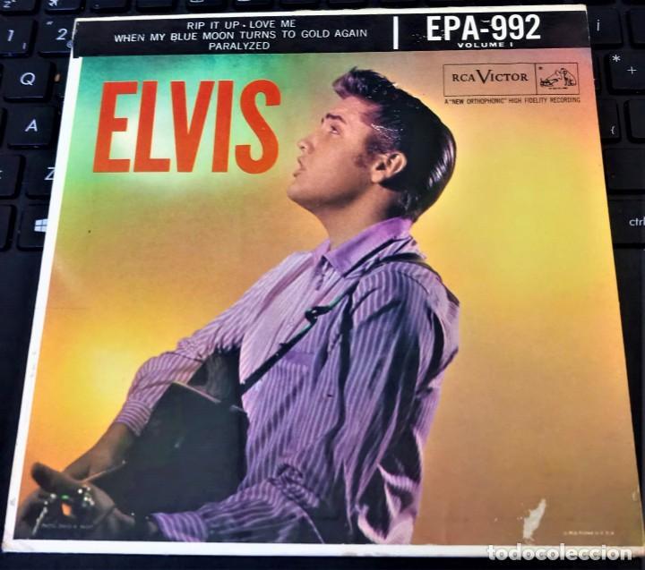 Discos de vinilo: ELVIS PRESLEY - ELVIS - EP 45 RPM ORIGINAL USA 1956 - 1ªEDICIÓN. EPA-992 - Foto 5 - 143701990
