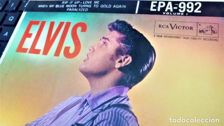 Discos de vinilo: ELVIS PRESLEY - ELVIS - EP 45 RPM ORIGINAL USA 1956 - 1ªEDICIÓN. EPA-992 - Foto 6 - 143701990