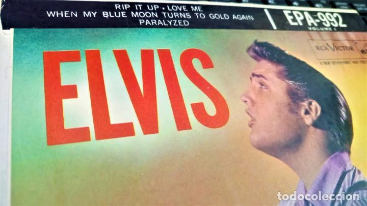 Discos de vinilo: ELVIS PRESLEY - ELVIS - EP 45 RPM ORIGINAL USA 1956 - 1ªEDICIÓN. EPA-992 - Foto 7 - 143701990