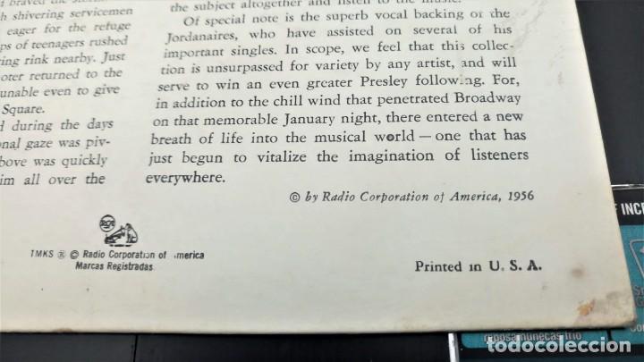 Discos de vinilo: ELVIS PRESLEY - ELVIS - EP 45 RPM ORIGINAL USA 1956 - 1ªEDICIÓN. EPA-992 - Foto 11 - 143701990