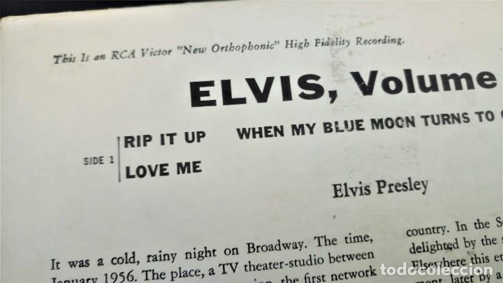 Discos de vinilo: ELVIS PRESLEY - ELVIS - EP 45 RPM ORIGINAL USA 1956 - 1ªEDICIÓN. EPA-992 - Foto 13 - 143701990