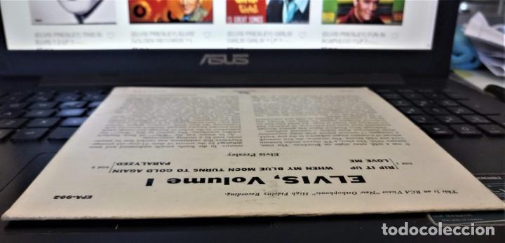 Discos de vinilo: ELVIS PRESLEY - ELVIS - EP 45 RPM ORIGINAL USA 1956 - 1ªEDICIÓN. EPA-992 - Foto 16 - 143701990