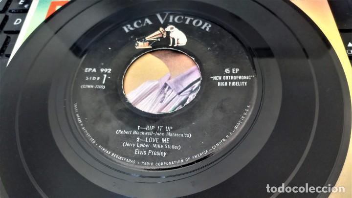 Discos de vinilo: ELVIS PRESLEY - ELVIS - EP 45 RPM ORIGINAL USA 1956 - 1ªEDICIÓN. EPA-992 - Foto 18 - 143701990