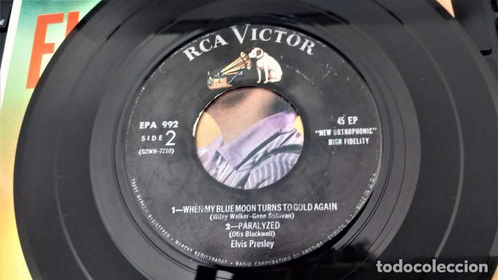 Discos de vinilo: ELVIS PRESLEY - ELVIS - EP 45 RPM ORIGINAL USA 1956 - 1ªEDICIÓN. EPA-992 - Foto 19 - 143701990