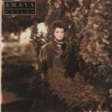 Discos de vinilo: AMAYA -VOLVER,MIRA IRA,MAGO,ME JUEGO TODO,CIUDAD,APARENCIAS....LP RCA DE 1986 ,RF-6975, BUEN ESTADO. Lote 143705158