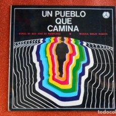 Discos de vinilo: UN PUEBLO QUE CAMINA - CORAL DE SAN JOSE DE PAMPLONA. Lote 143707278