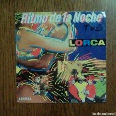 Discos de vinilo: LORCA - RITMO DE LA NOCHE, CARRERE, 1990. FRANCE.. Lote 143708041