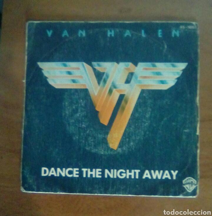 VAN HALEN - DANCE THE NIGHT AWAY, WARNER, 1979. SPAIN. (Música - Discos de Vinilo - Singles - Pop - Rock Extranjero de los 80)