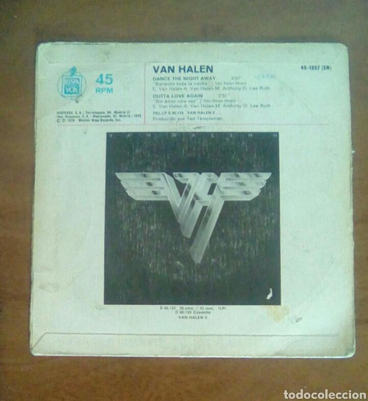 Discos de vinilo: Van Halen - Dance the night away, warner, 1979. Spain. - Foto 2 - 143710725