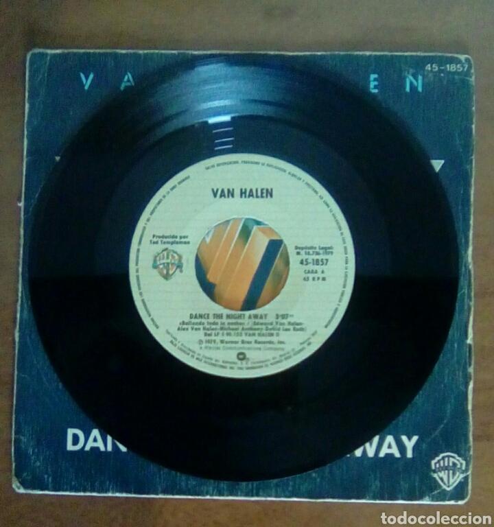 Discos de vinilo: Van Halen - Dance the night away, warner, 1979. Spain. - Foto 3 - 143710725