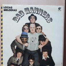Discos de vinilo: BAD MANNERS- LOCAS MELODIAS- LP MAGNET 1980. Lote 143722026
