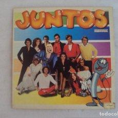 Discos de vinilo: JUNTOS, VARIOS ARTISTAS, LP EDICIÓN ESPAÑOLA 1981, HISPAVOX.. Lote 143723522
