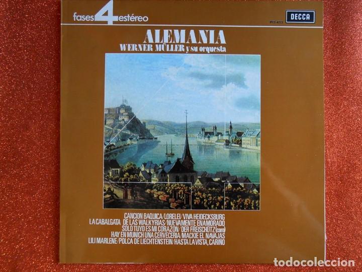 ALEMANIA WERLER MÜLLER Y SU ORQUESTA (Música - Discos de Vinilo - EPs - Clásica, Ópera, Zarzuela y Marchas)