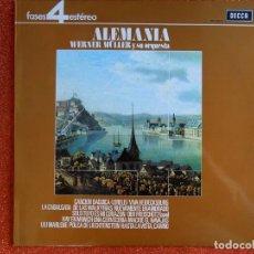 Discos de vinilo: ALEMANIA WERLER MÜLLER Y SU ORQUESTA. Lote 143728622