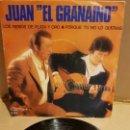 Discos de vinilo: JUAN EL GRANAINO / LOS REMOS DE PLATA Y ORO / SINGLE-OLYMPO-1982 / MBC. ***/***. Lote 143730866
