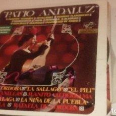 Discos de vinilo: BAL-6 DISCO GRANDE 12 PULGADAS PATIO ANDALUZ TANGOS GITANOS. Lote 218392172