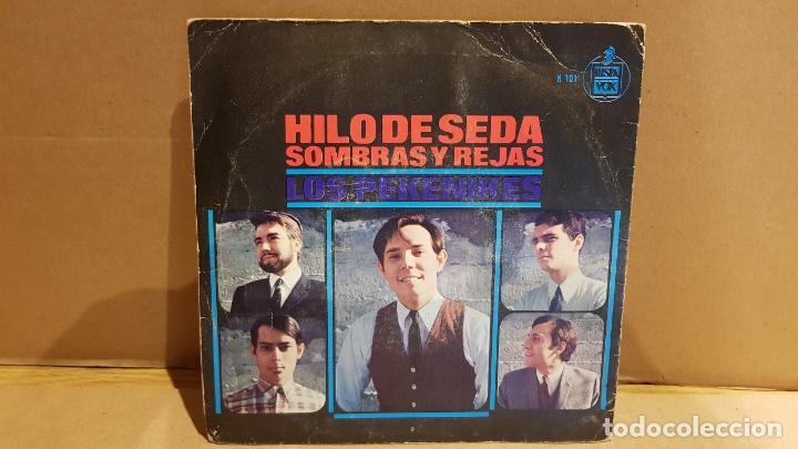 Discos de vinilo: LOS PEKENIKES / HILO DE SEDA / SINGLE-HISPAVOX-1966 / MBC. ***/*** - Foto 2 - 143732410