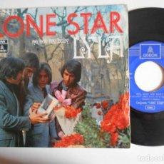 Discos de vinilo: LONE STAR-SINGLE LYLA. Lote 143734442