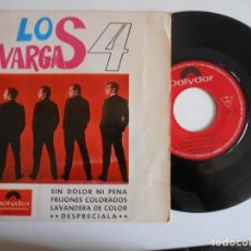 Discos de vinilo: LOS 4 VARGAS-EP SIN DOLOR NI PENA +3. Lote 143734774