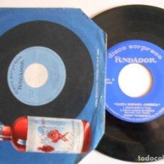 Discos de vinilo: LOS AGAPULCOS-EP FUNDADOR-TRISTEZA DE AMOR +3-1966. Lote 143735026
