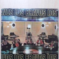 Discos de vinilo: LOS BRAVOS- LP DISC JOCKEY ARGENTINA. Lote 143738878