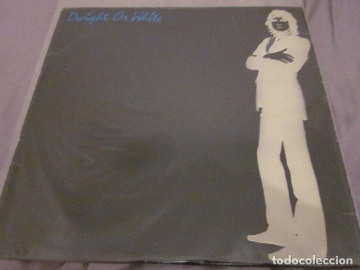 DWIGHT TWILLEY - DWIGHT ON WHITE - MAXISINGLE EDICION INGLESA DEL 1979 - VINILO BLANCO. (Música - Discos de Vinilo - Maxi Singles - Pop - Rock Internacional de los 70)