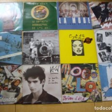 Discos de vinilo: OFERTON LOTE 12 MXS Y LPS NIKIS, RUFUS, LA MODE, CINEMA DISTRITO 5 MOGOLLON MOVIDA POP. Lote 143744730