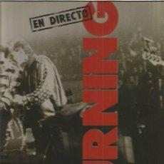 Discos de vinilo: BURNING EN DIRECTO. Lote 143745174