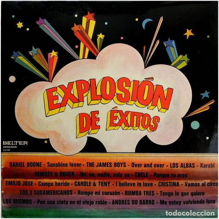 VVAA - EXPLOSIÓN DE EXITOS - LP SPAIN 1973 - BELTER 22.749 (Música - Discos - LP Vinilo - Grupos Españoles de los 70 y 80)