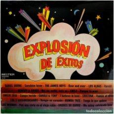Discos de vinilo: VVAA - EXPLOSIÓN DE EXITOS - LP SPAIN 1973 - BELTER 22.749. Lote 143746258