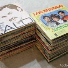 Discos de vinilo: LOTE 138 SINGLES VINILOS VARIOS ESTILOS. Lote 143748314