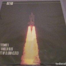 Discos de vinilo: RUSH - NEW WORLD MAN - MAXISINGLE DEL AÑO 1982.. Lote 143750638