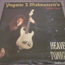 Discos de vinilo: YNGWIE J. MALMSTEIN'S RISING FORCE - HEAVEN TONIGHT - MAXISINGLE DEL AÑO 1988.. Lote 143751210