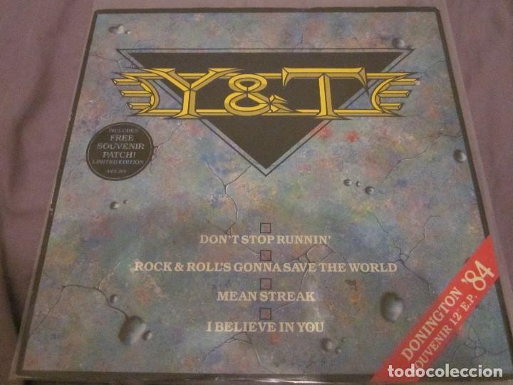 Y & T - DON'T STOP RUNNIN' - MAXISINGLE EDICION UK DEL AÑO 1984. (Música - Discos de Vinilo - Maxi Singles - Heavy - Metal)