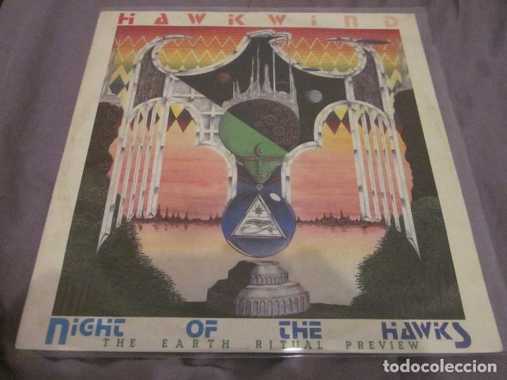 HAWKWIND - NIGHT OF THE HAWKS - MAXI EDICION DEL AÑO 1984. (Música - Discos de Vinilo - Maxi Singles - Heavy - Metal)